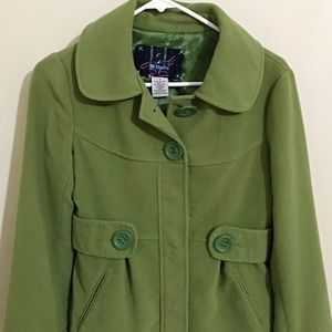 Short and Light Weight Pea Coat